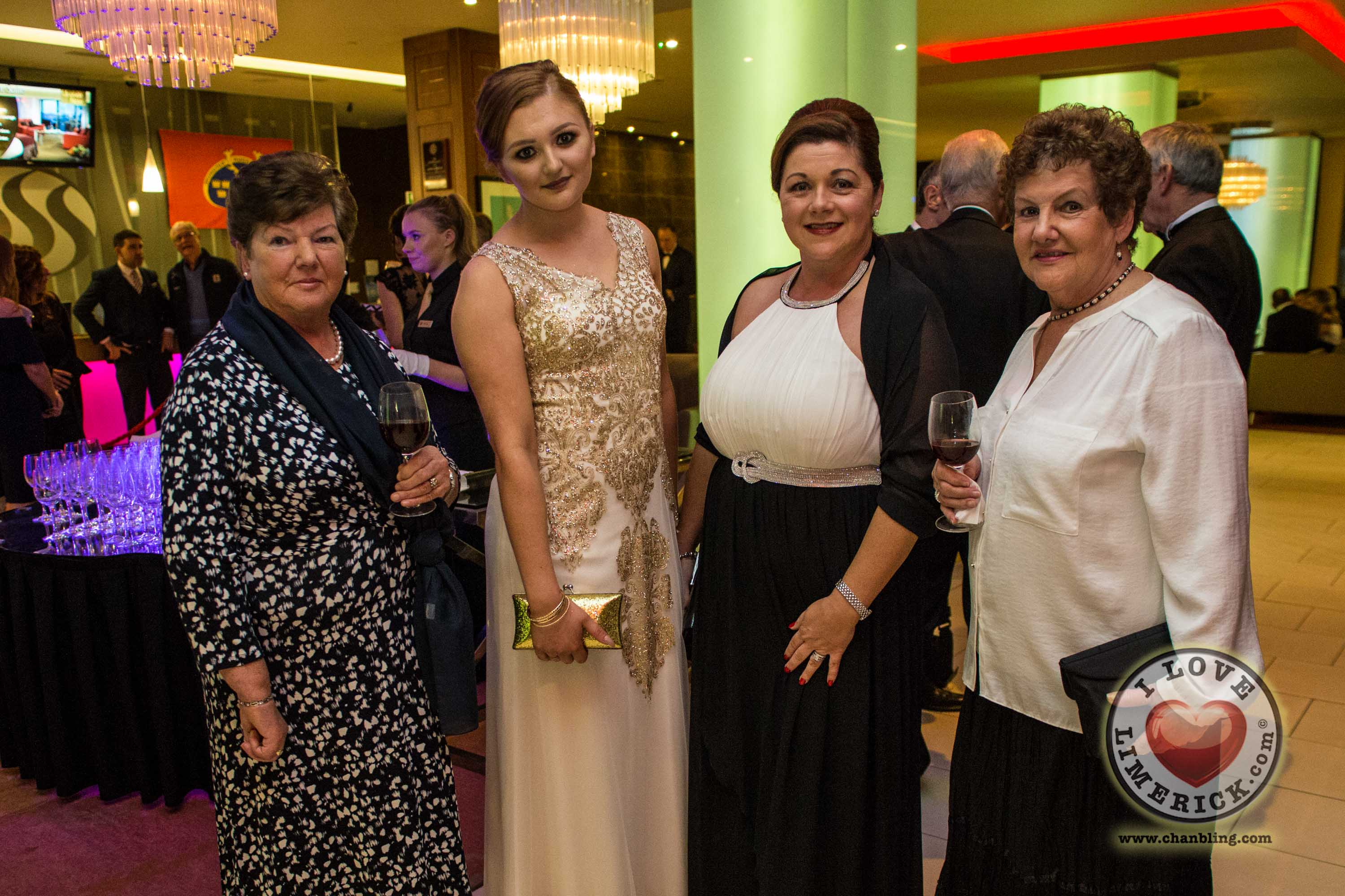 Peggie and Sarah Connors, Florence O'Brien and Eleanor Hamilton. Picture Cian Reinhardt/ilovelimerick