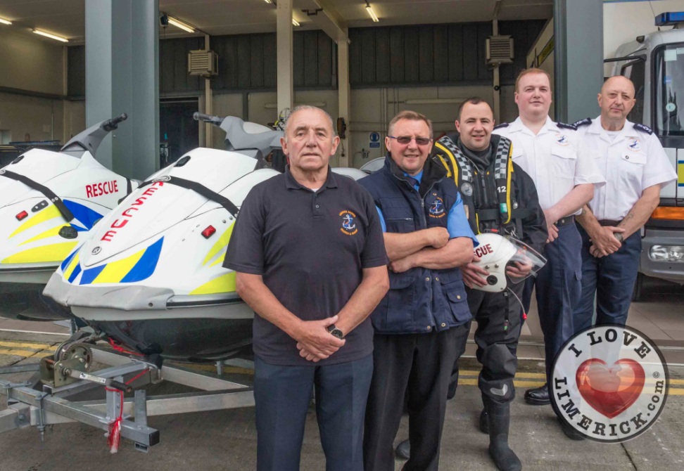 Limerick Marine Search and Rescue Service celebrate 30th year service for the people of Limerick