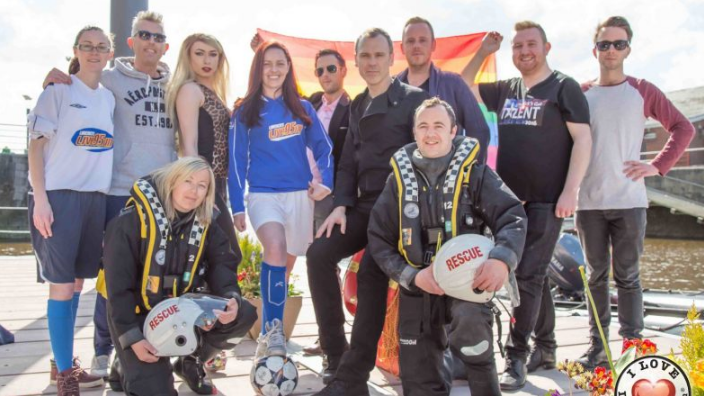Limerick LGBT Pride Fundraising Day for Limerick Marine Search and Rescue