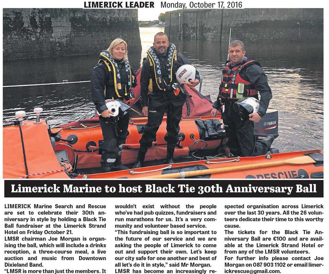 LMSR Press Limerick Leader