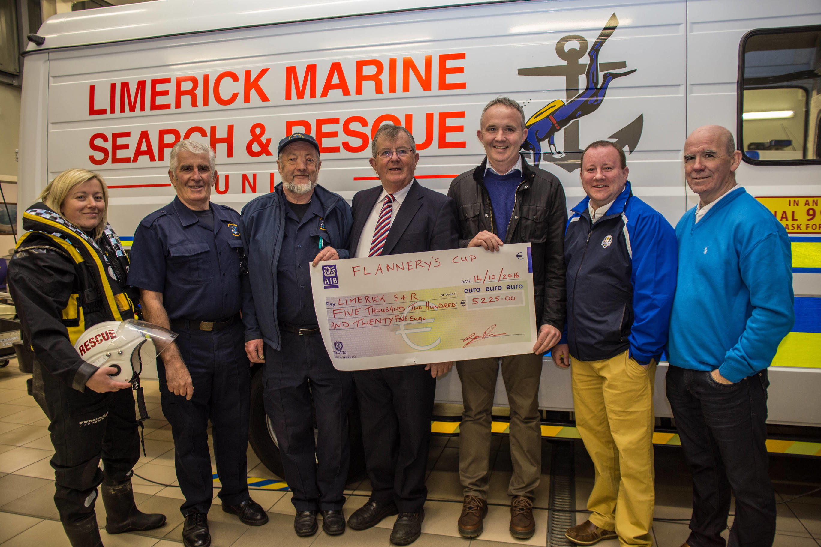 Pat Flannery Golf Classic raise Limerick Marine Search Rescue funds