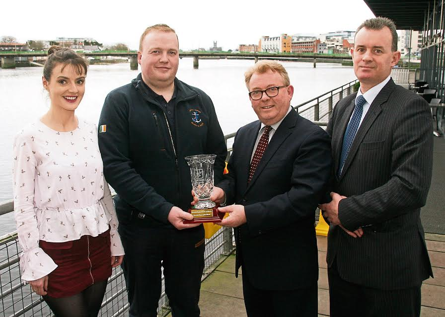 Limerick Marine Search and Rescue awarded Limerick Person of the Month award